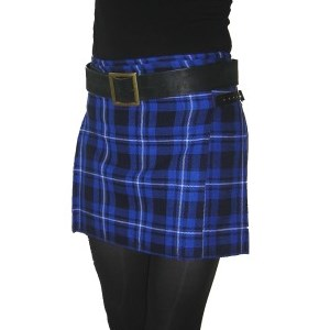 Galician Blue Women's Billie Kilt Skirt