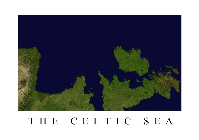 The Celtic Sea Poster Print