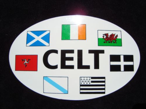 Celtic Nations Sticker