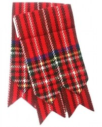 Flashes for Royal Stewart Kilt Hose Socks