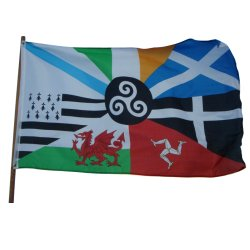 Celtic Nations Flag