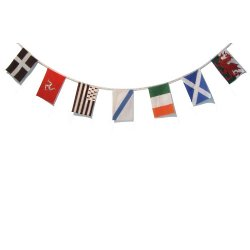 Celtic Nations Flag Bunting