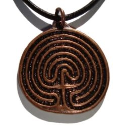 Celtic Labyrinth Necklace