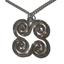 Celtic Tetraskelion Necklace