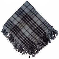 Grey Spirit Tartan Fly Plaid