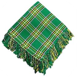 Irish Green Tartan Fly Plaid
