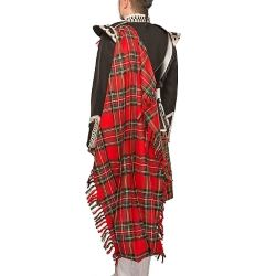 Royal Stewart Tartan Fly Plaid
