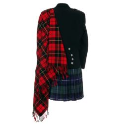 Wallace Tartan Fly Plaid