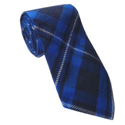 Tie for Galician National Tartan Kilt