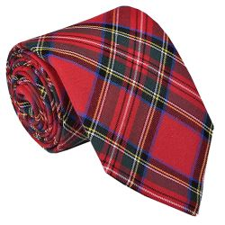 Tie for Royal Stewart Tartan Kilt