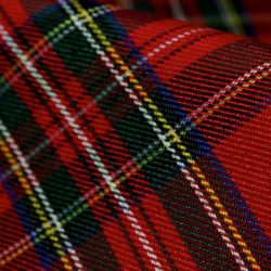 Royal Stewart Tartan Fabric