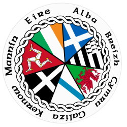 Celtic Nations Sticker with Country Names