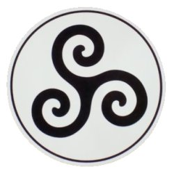 Triskelion Sticker