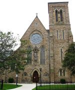Hamilton's St. Patrick's Church is one of the finest examples of gothic revival in Ontario, Canada