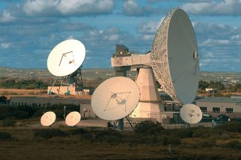 Goonhilly Satellite Earth Station, Cornwall