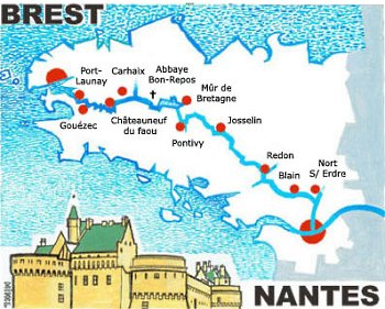 Nantes-Brest Canal, Brittany's largest civil engineering work is 200 years old