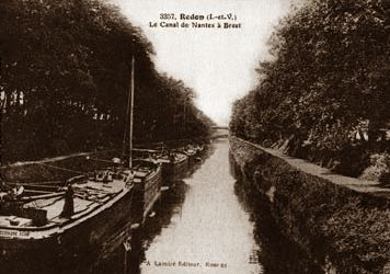 The Nantes-Brest Canal enjoyed a period of prosperity in the 19th century.
