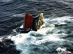 December 1999, Brittany: The 'Erika', a 25 year old, single-hull tanker wrecked 70 km off the Breton coast. 13,000 tons of heavy oil was released into the sea, polluting 400 km of coast