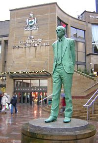 'There shall be a Scottish Parliament': Donald Campbell Dewar (1937-2000) was the first First Minister of Scotland after Devolution in 1999.